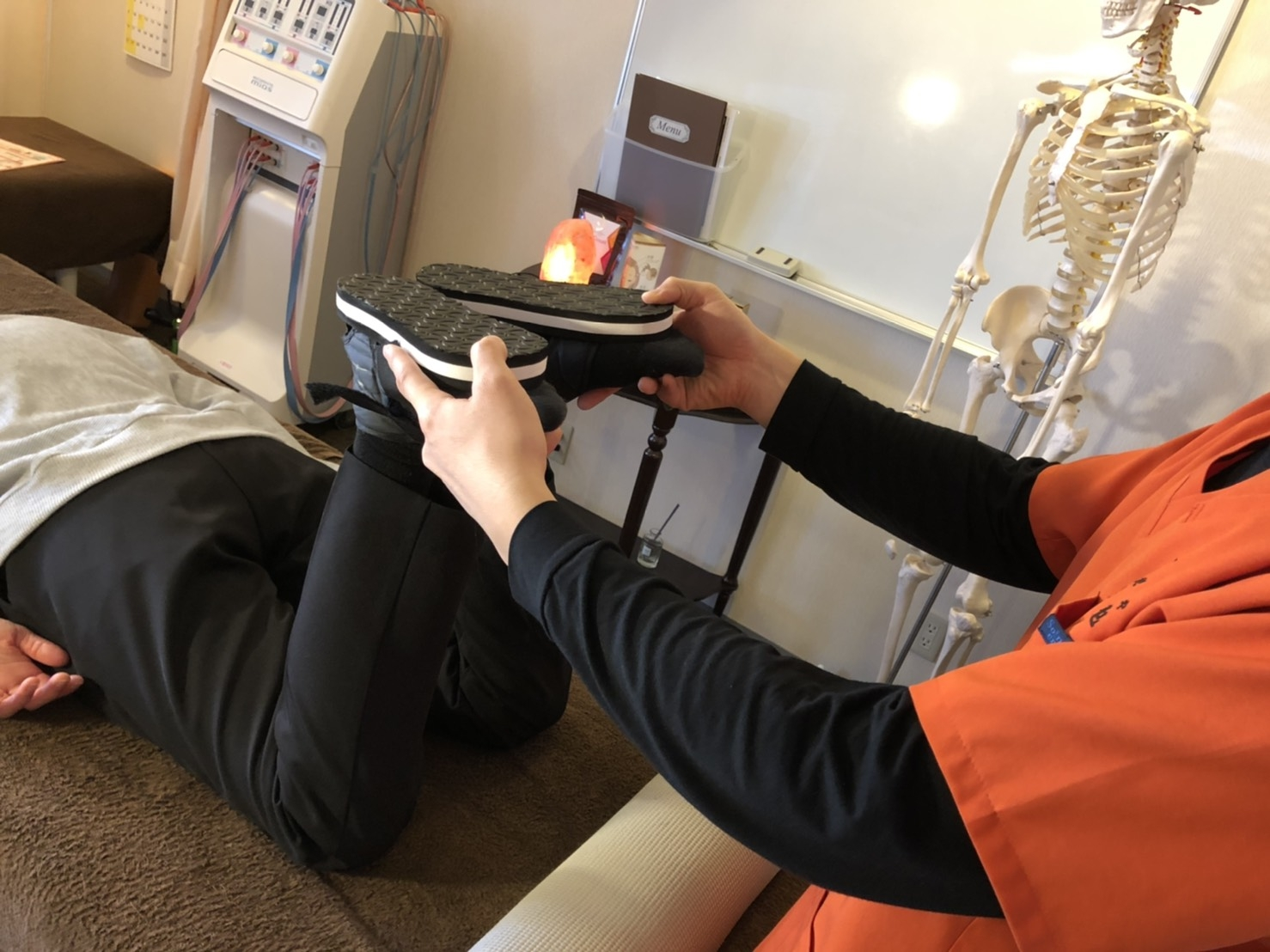 下肢長検査